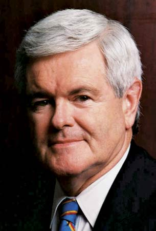 Newt Gingrich Presidential Nominee