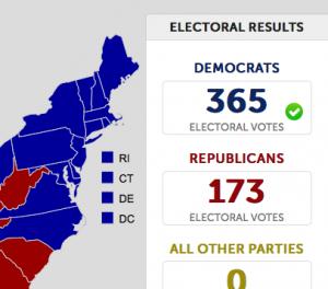 New Interactive Electoral Political Map – 1964 through 2012