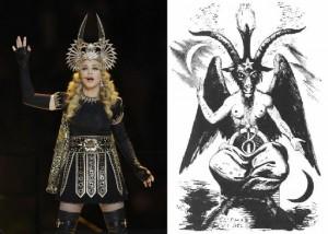 Madonna Worships Satan