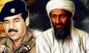 Bin Laden Saddam Hessein Obama Shicken Shit