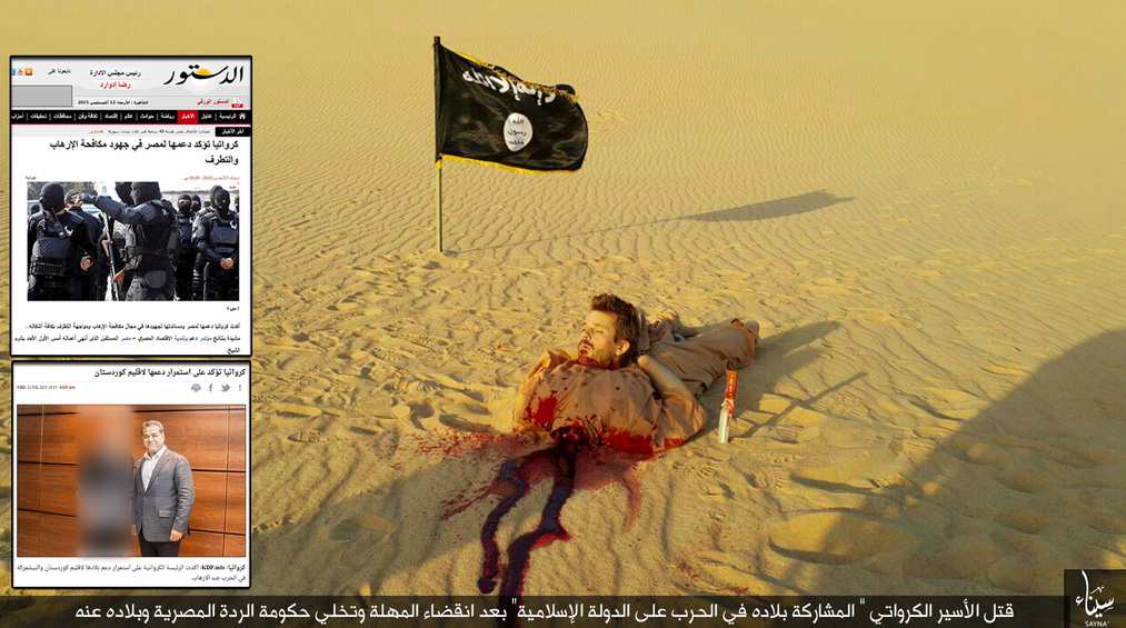Evil Muslims of ISIS Behead Tomislav Salopek, a Loving Christian Father and Husband, in Cold Blood