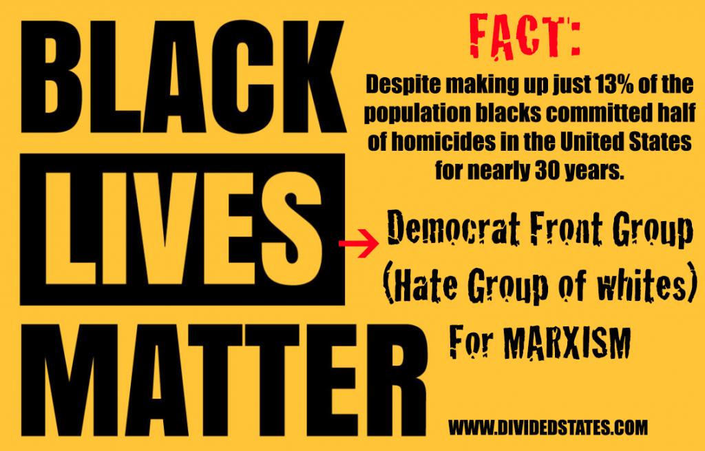 blacks lives matter protests fake