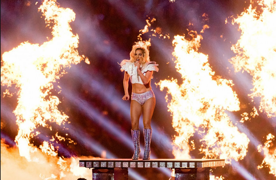 lady gaga fire